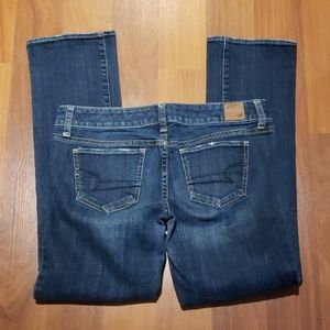 A Eagle Straight stretch Jean's size 6 S